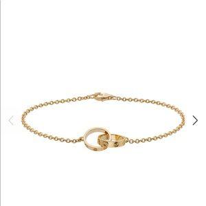 Cartier LOVE bracelet chain - yellow gold